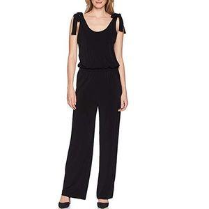 Karen Kane black jumpsuit with a back zipper NWT